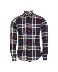 Gitman Bros Blue Shirt for men
