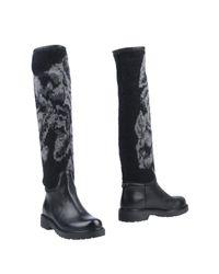 Twin Set - Black Boots - Lyst
