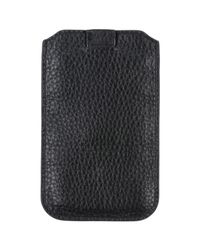 Emporio Armani - Black Covers & Cases - Lyst