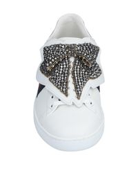 Gucci White New Ace Sneakers With Removable Patches