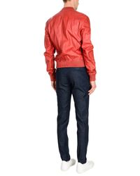 DSquared² - Red Jacket for Men - Lyst