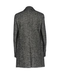 Lardini - Black Coat - Lyst