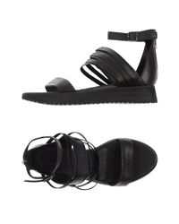 LD Tuttle - Black Sandals - Lyst