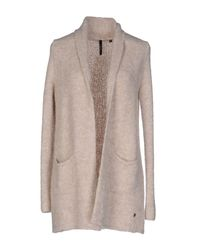 Woolrich - Natural Cardigan - Lyst