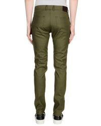 Paolo Pecora Green Casual Pants for men