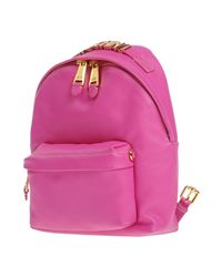 Moschino - Pink Backpacks & Fanny Packs - Lyst