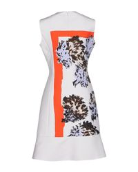Dior - White Short Dress - Lyst