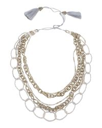 NIGHTMARKET.IT - White Necklace - Lyst