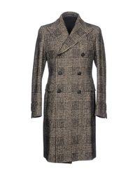 Tagliatore - Black Coat for Men - Lyst