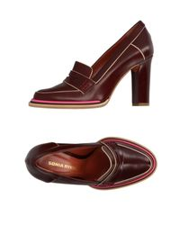 Sonia Rykiel - Brown Loafer - Lyst