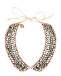 Liu Jo - Pink Necklace - Lyst