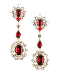 DSquared² - Red Earrings - Lyst