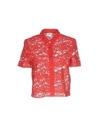Liu Jo - Red Shirts - Lyst