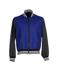 Les Hommes - Blue Jacket for Men - Lyst