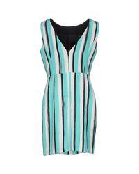 Marco Bologna - Blue Short Dress - Lyst