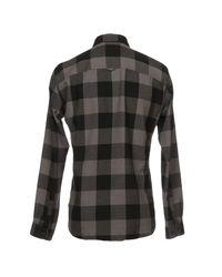 Originals By Jack & Jones - Gray Shirts for Men - Lyst