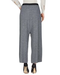 Souvenir Clubbing - Gray Casual Pants - Lyst