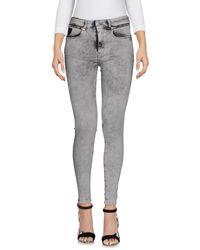 April77 | Gray Denim Pants | Lyst