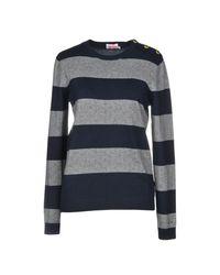 Sun 68 - Gray Sweater - Lyst