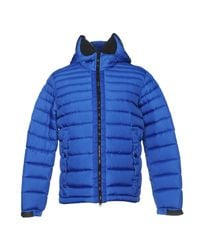 Ai Riders On The Storm - Blue Down Jacket - Lyst