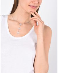 Cruciani - Pink Necklace - Lyst