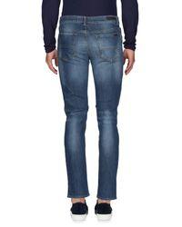 Trussardi - Blue Denim Pants for Men - Lyst