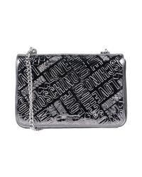 Love Moschino - Metallic Handbags - Lyst