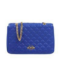 Love Moschino - Blue Cross-body Bags - Lyst