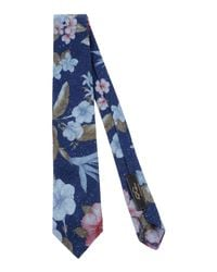 Gabriele Pasini - Blue Tie for Men - Lyst