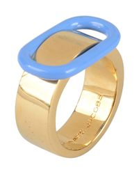 Marc By Marc Jacobs - Blue Ring - Lyst