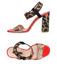 Alberto Gozzi - Pink Sandals - Lyst