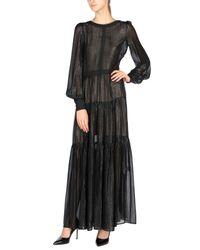Black Coral Black Long Dress