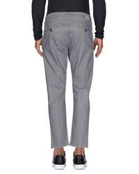 Officina 36 - Gray Denim Pants for Men - Lyst