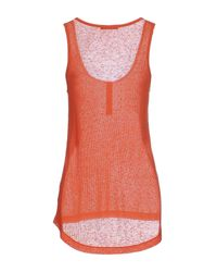 Pinko - Orange Vest - Lyst