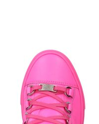 Balenciaga - Pink Low-tops & Sneakers - Lyst