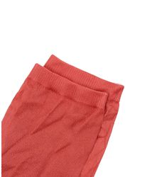 Golden Goose Deluxe Brand | Red Short Socks | Lyst