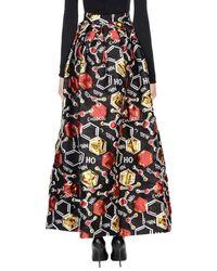 Ultrachic - Black Long Skirt - Lyst