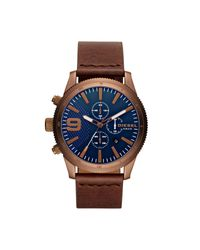 DIESEL - Blue Wrist Watch for Men - Lyst
