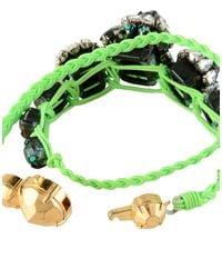 Shourouk - Green Bracelet - Lyst