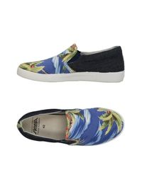 Springa - Blue Low-tops & Sneakers for Men - Lyst