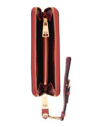 Moschino - Red Wallets - Lyst