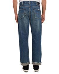 Chimala - Blue Denim Trousers for Men - Lyst