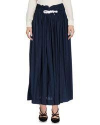Kor@kor | Blue 3/4 Length Skirt | Lyst