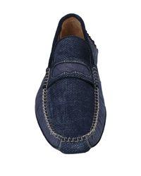 Gold Brothers - Blue Loafer for Men - Lyst