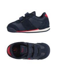 Ralph Lauren - Blue Low-tops & Sneakers for Men - Lyst