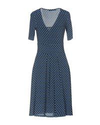 Caractere - Blue Knee-length Dress - Lyst