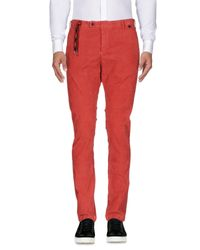 AT.P.CO - Black Casual Trouser for Men - Lyst