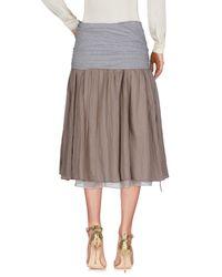 Peserico Natural 3/4 Length Skirt