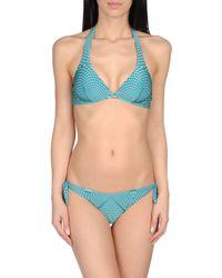 Agogoa - Green Bikini - Lyst