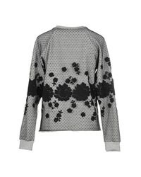 Giamba - Gray Sweatshirt - Lyst